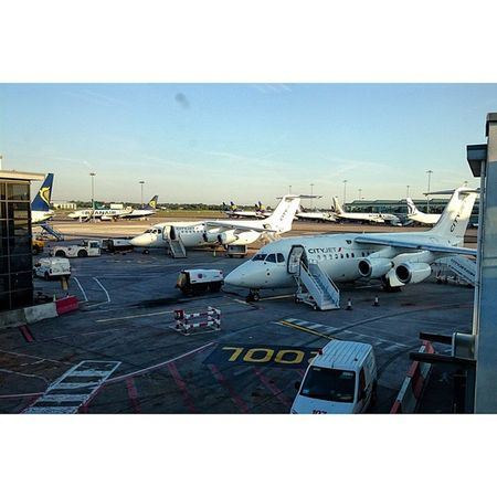 My private jet to London 😄✈ Cityjet Avroliner RJ85 London Londoncity