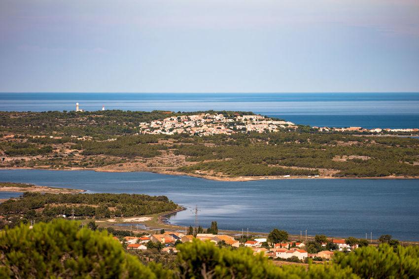 Beauty In Nature Blue Clear Sky Coastline Fitougraphie France 🇫🇷 Horizon Over Water Landscape Landscape_photography Laurent Vankilsdonk Leucate No People Outdoors Sea