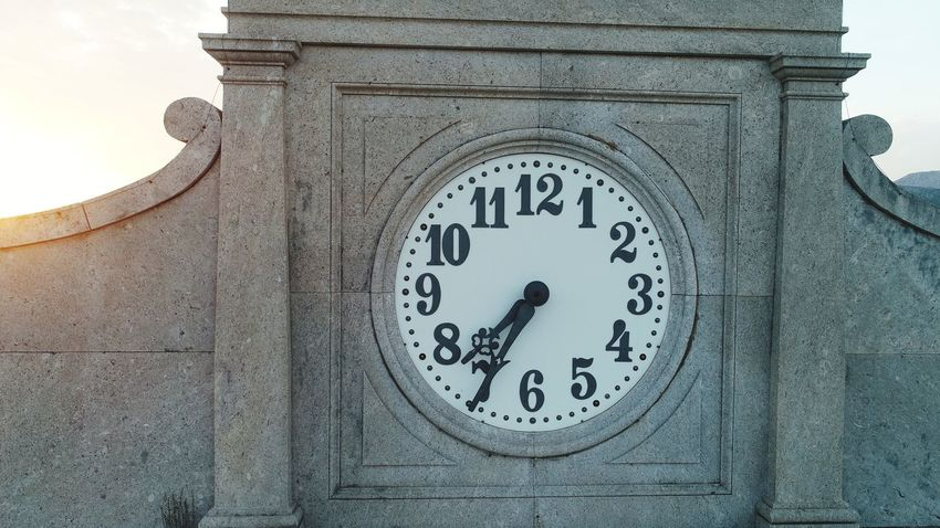 Clock Face Clock Minute Hand Time Hour Hand City Close-up Architecture Built Structure