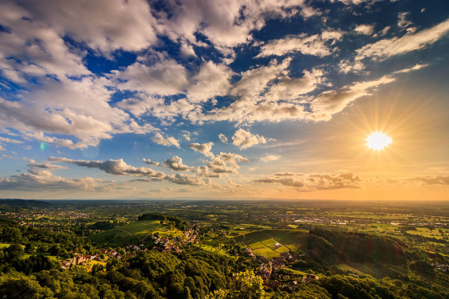 Beauty In Nature Cloud - Sky Clouds And Sky Landscape No People Outdoors Sky Sunset