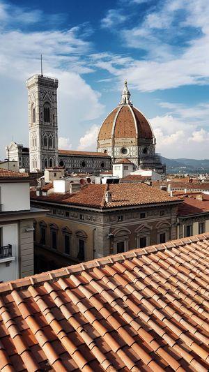 Duomo santa maria del fiore against sky in city