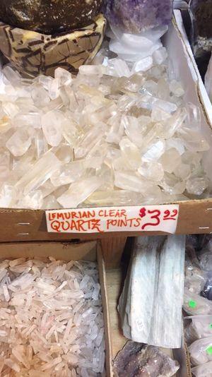 Lumarian clear quartz :)