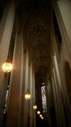 Religion Low Angle View Indoors  Arch Spirituality Place Of Worship Architecture Lights