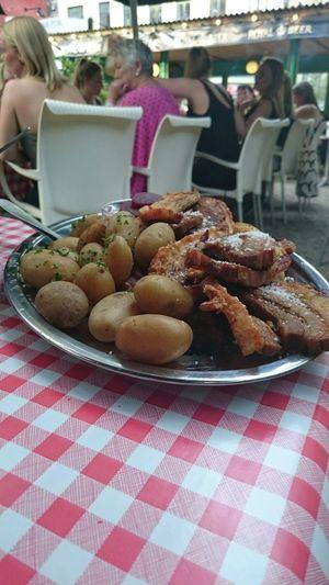 Stegt Flæsk Food
