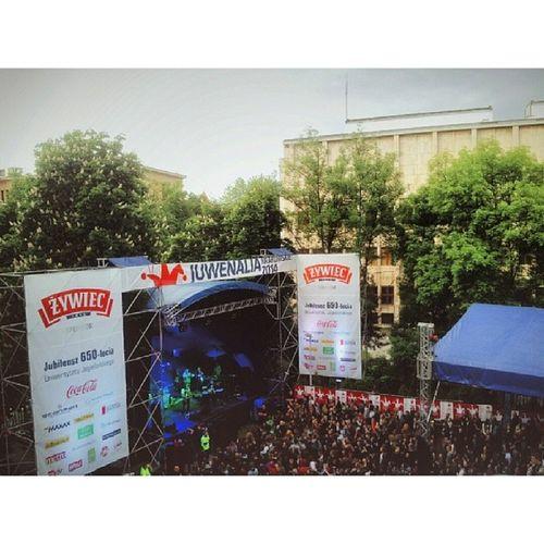 It has arrived. Fun times. Gallery view. Juvenalia 2014 Krakow Krakow cracow concert reggae polishmusic impreza spring may festival party photooftheday instagrampl instagrampl instalike top student love vscopoland vscolove feel piękne wtorek