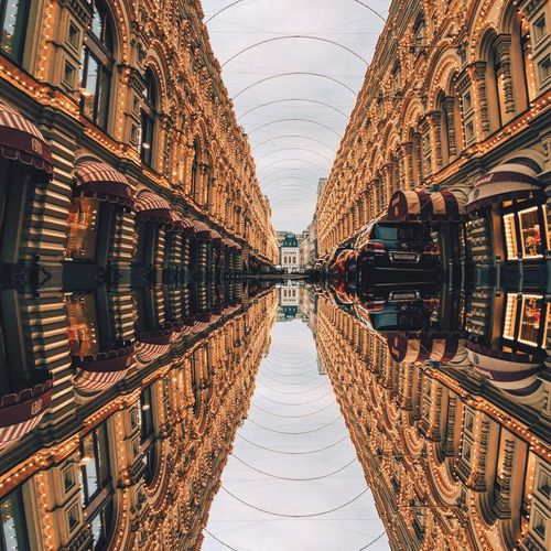 Reflections Of Buildings