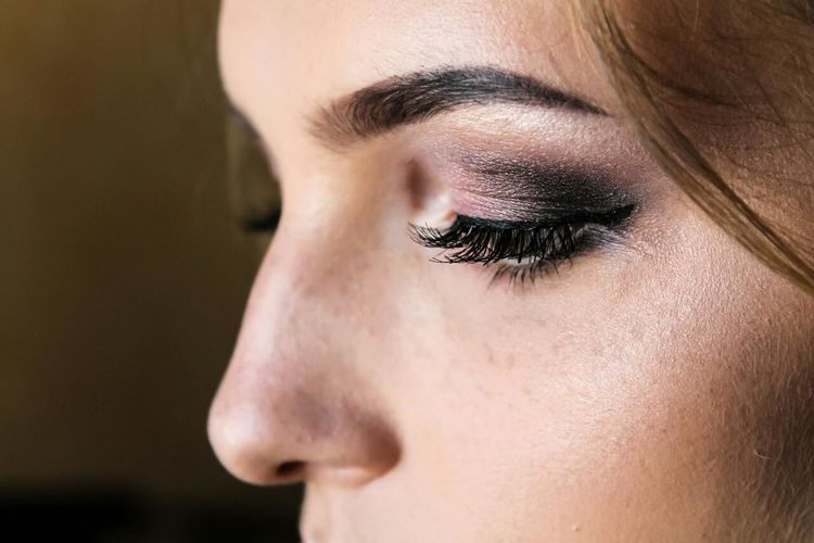 красота в деталях Eye Only Women One Person Women Beautiful People Weddingday  💋💞💞❤️💕 Rings 💍