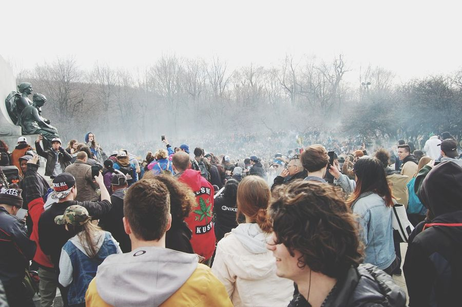 EyeEm Selects Large Group Of People Crowd Togetherness People Adult Music Festival Enjoyment Arts Culture And Entertainment Fan - Enthusiast Watching Women Men Adults Only Day Outdoors Real People Audience Popular Music Concert Young Adult 420 420life 420society