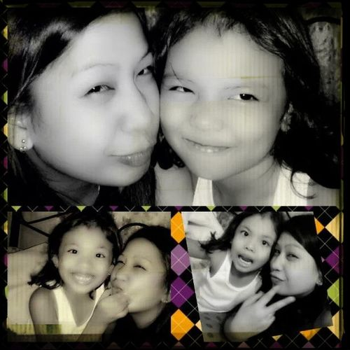 Hanging Out em with lala;) my cute little sister;)