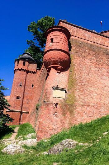 History Zamek Królewski Na Wawelu Zamek  Wawel Castle Architecture Built Structure Building Exterior Outdoors Day No People Fort Sunlight Clear Sky Poland Kraków, Poland IPhone 5S