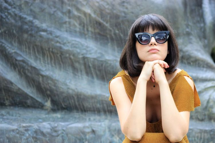 Adult Bangs Beautiful Woman Close-up Day Daylight Glass Headshot Model Photo Photography Portrait Portrait Of A Woman Portrait Photography Sunglasses Woman