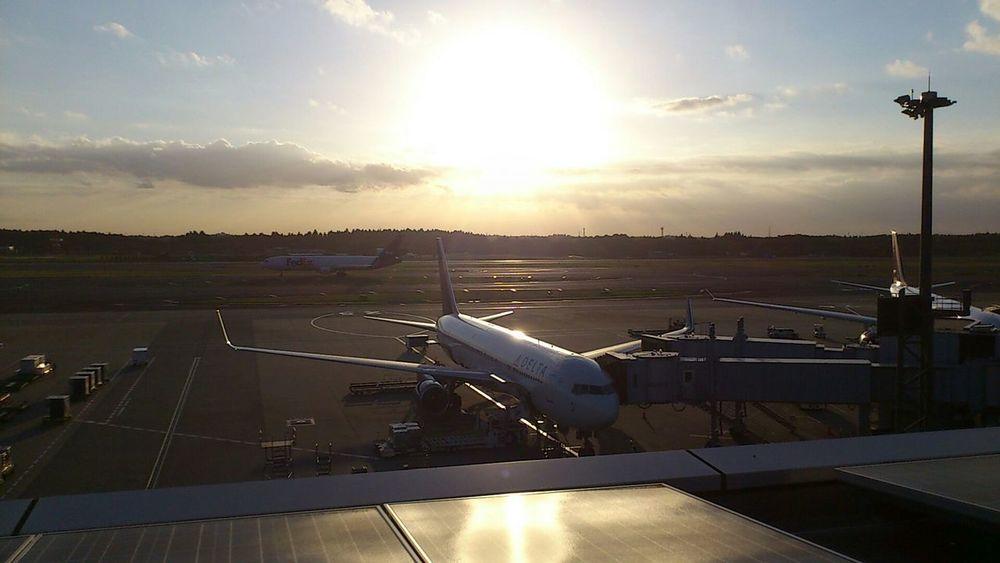 NARITAAIRPORT At The Airport Plane