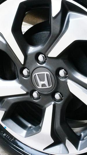 Car Accessories Automotive Velg Logo Gear Aluminum Car Metal Close-up