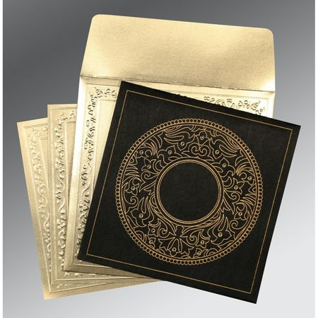 Give your wedding a special feel with our exclusive Black/Grey, Wooly, Designer Wedding Cards - AD-8214D. more details @ https://www.a2zweddingcards.com/card-detail/AD-8214D Designer Invitations Designer Wedding Invitations Designer Wedding Cards Online
