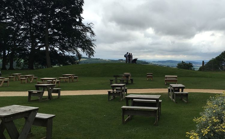 Hills Picnic Tables Broadway Tower