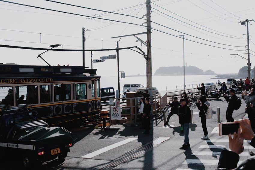 Vscocam Kamakura Cable Transportation Connection Electricity Pylon Power Line  Electricity  Technology Day City Clear Sky