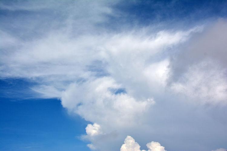 White Blue Sky
