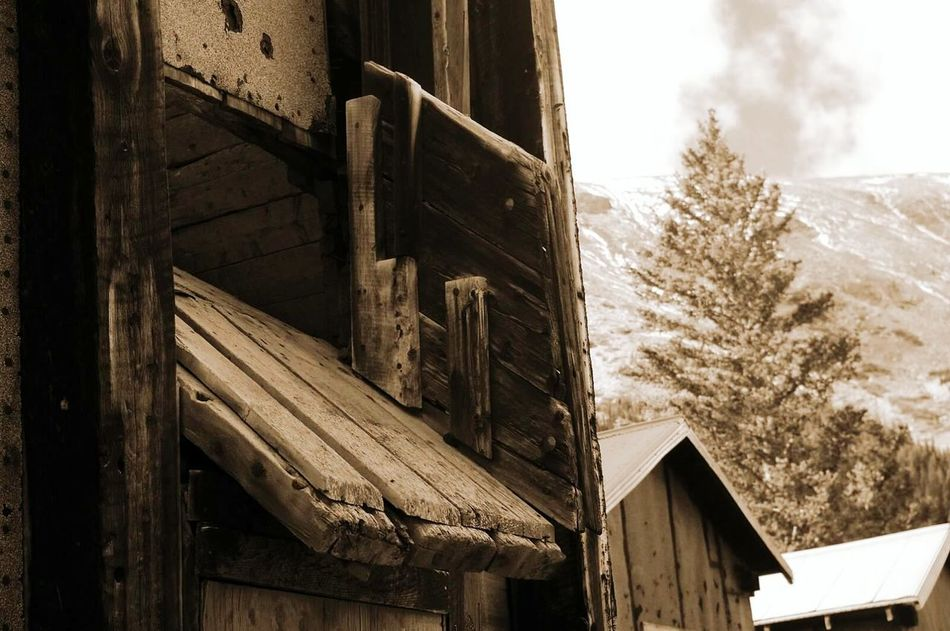 Built Structure Abandoned Mining History Of America Mining Heritage Colorado Photography Ghosttowns Colorado Weathered Mining Wood - Material