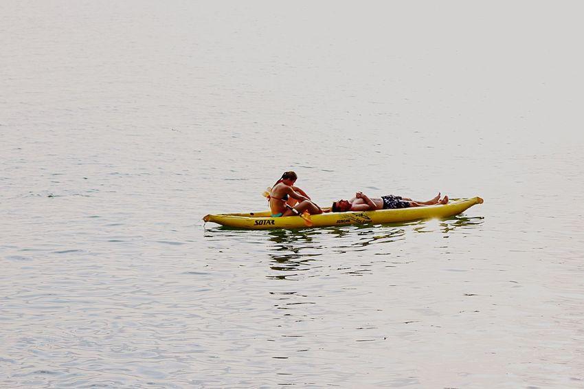 Summer Views Rowboat Rowing Romantic❤ LoveSea Sealover  EyeEm Nature Lover Seascape Enjoying Life Light And Shadow