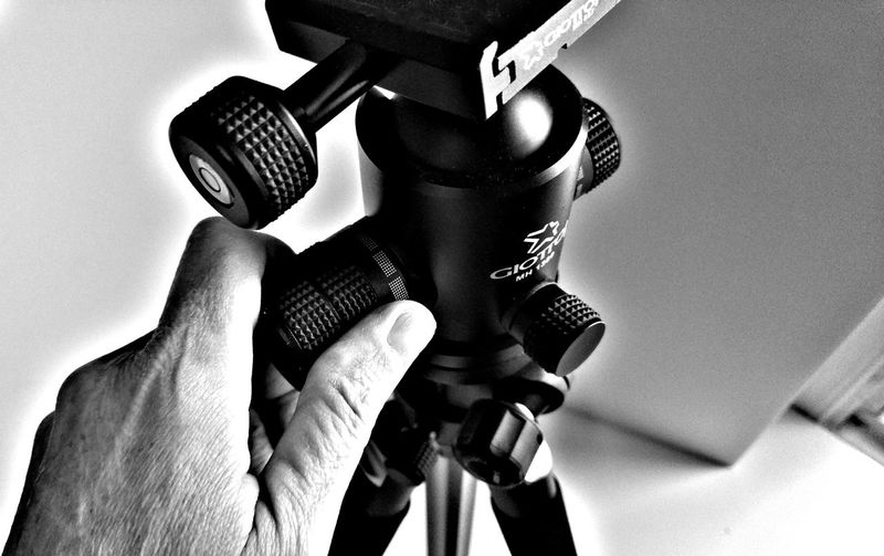 Tripod Quick Release Plate Tripod Professional Swivel Head Tripods Ballhead Video Photography Studio Shot Quick Release Giotto Black & White Black & White Collection Studio Lightbox Photography Studio
