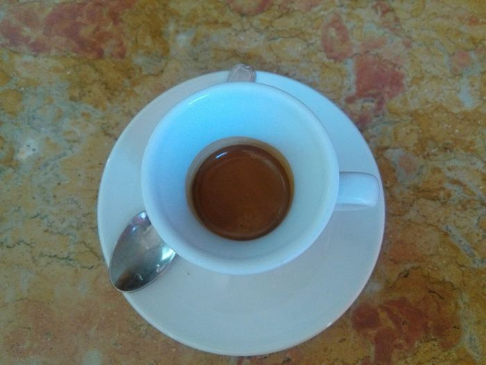Drink Coffee - Drink Coffee Cup Food And Drink Table Refreshment Saucer Indoors  Directly Above No People Freshness Close-up Day Colazione Time  Sitting Women Real People Arts Culture And Entertainment Tree