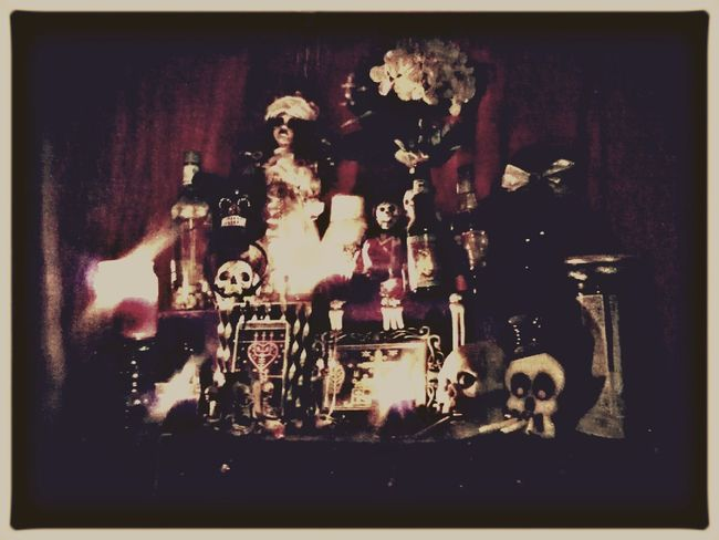 Gede Voodoo Altars Baron Samedi Occult Loa