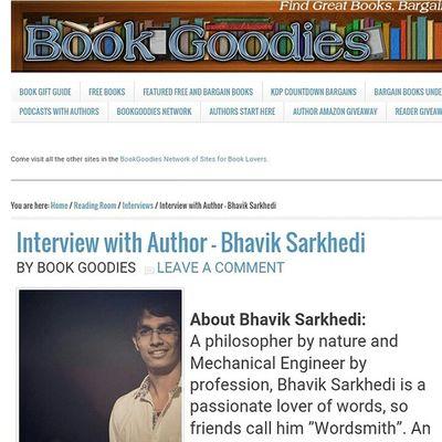 Interview Book Author Book goodies Finallydone