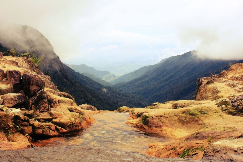 Clouds Dalat Vietnam Waterfall