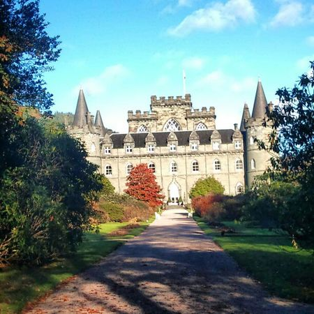 'Castle' Inverary Scotland Castles Historical Buildings Fairytale