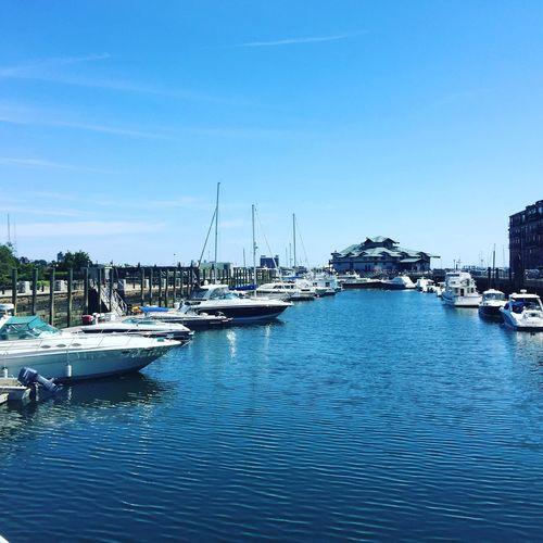 Boat harbor Boston First Eyeem Photo