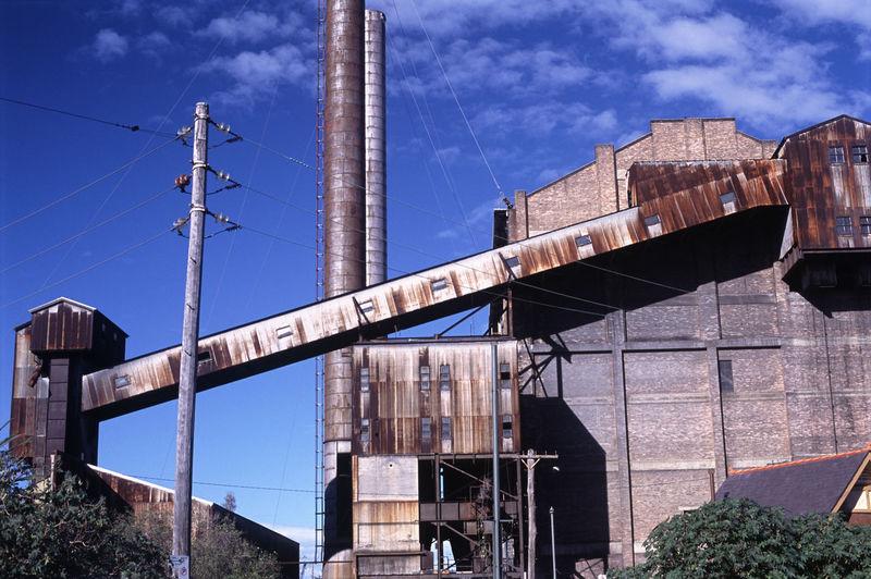 Abandoned White Bay Power Station Against Sky