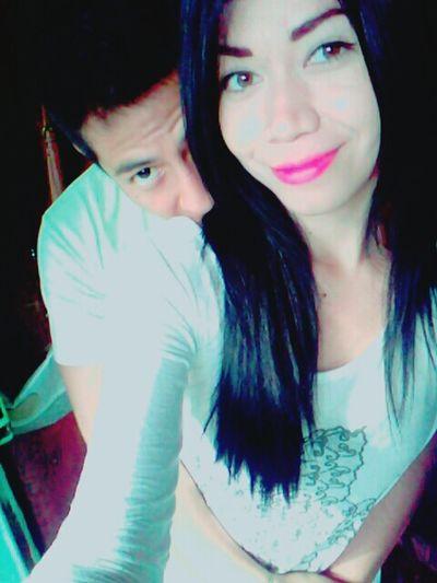 Chris & Clelian Juntos 💜 Taking Photos Amor ♥