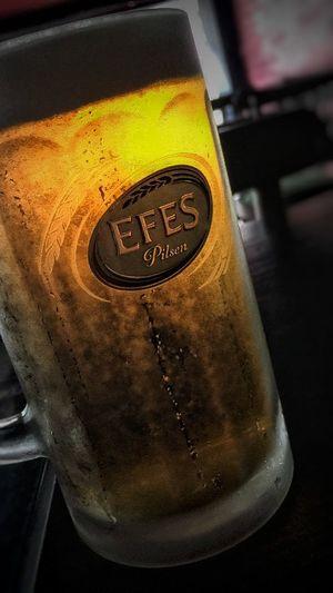 Close-up Focus On Foreground No People Beer Time Beer Beerporn Beergasm Efes Efes Pilsen🍺 Efes Pilsen Efesmalt