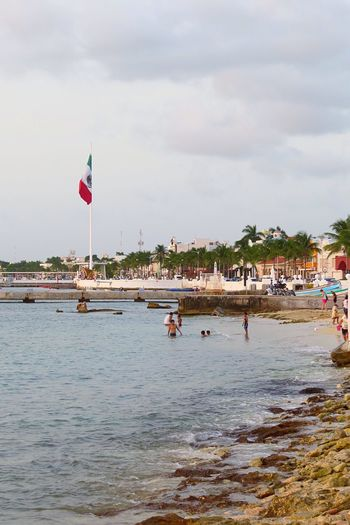 Cloudy evenings in Cozumel Cozumel Mexico Photography Beach Ocean Canonphotography Canon Photooftheday Eye4photography  Traveling Travel Travel Photography Island Island Life Eyemphotography Paradise Visitcozumel Eye4photography  Malecon