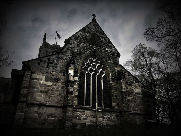 St Michael and All Angels Church Architecture Built Structure Religion Low Angle View History Place Of Worship Spirituality Building Exterior Sky Church
