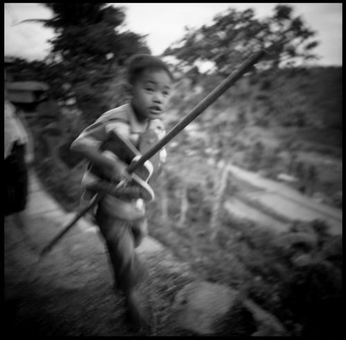 The faces of the Banaue Rice Terraces 120 Mm Analogue Photography Banaue Black And White Boy Boy And Cone Boy Running Film Photography Mountains Outdoors Rice Terraces Rice Terraces. Philippines The Photojournalist - 2017 EyeEm Awards Travel Youth