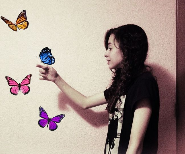 My Edit Butterfly
