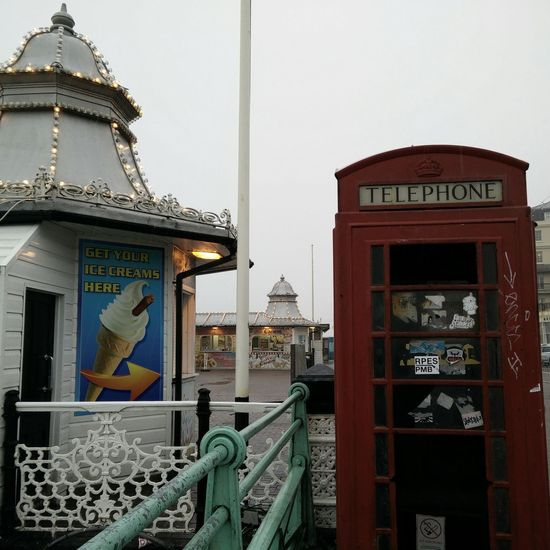 Bonjour Tristesse Telephone Box Summer Is Over Grey January