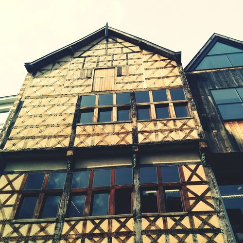 Old wooden city house