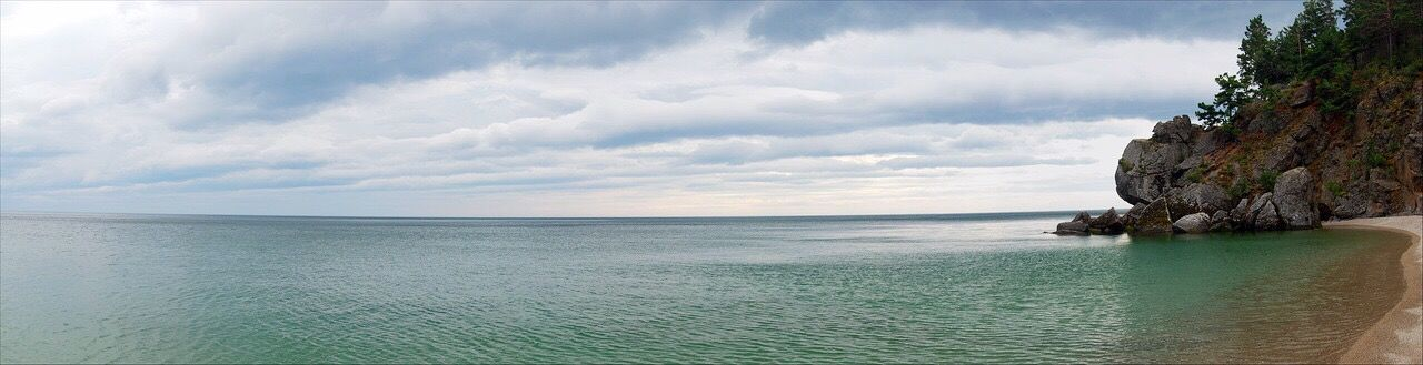 sea, scenics, water, tranquil scene, nature, tranquility, beauty in nature, beach, sky, idyllic, horizon over water, cloud - sky, sand, no people, outdoors, day, vacations