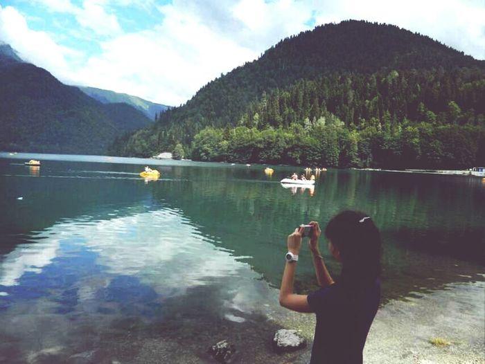 Абхазия озеро абхазия отдых