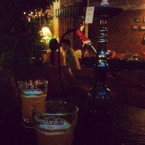Beer and shisha...
