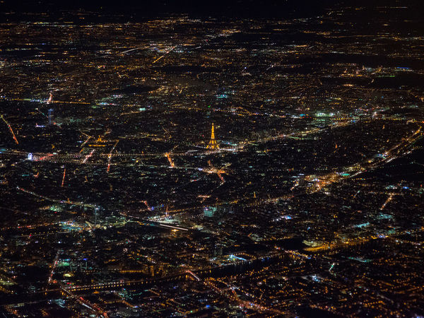 Paris viewed from the sky. City City Life City Street Cityscape Eiffel Tower From Above  Night Lights Nightphotography Paris Paris, France  ParisByNight Backgrounds City Lights City View  Eiffel Eiffeltower Full Frame Illuminated Night No People Outdoors Space Star - Space