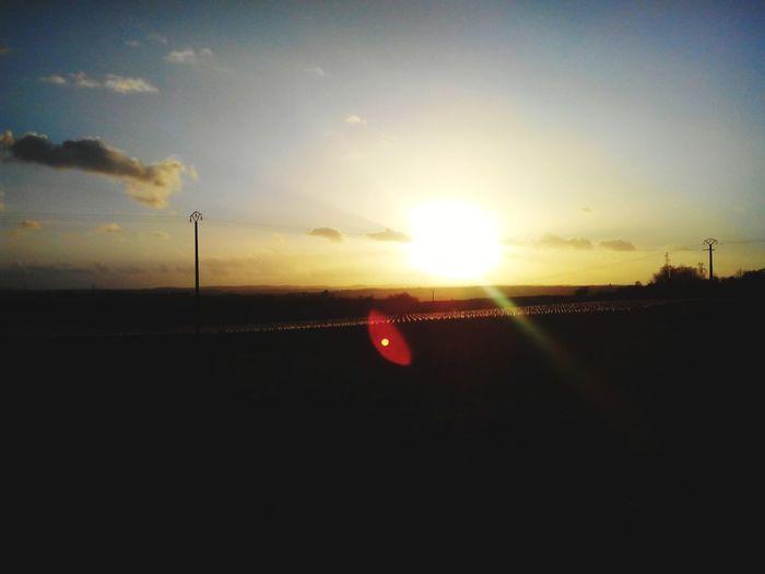 Coucher de soleil. Angouleme Nuit Soleil Coucher De Soleil Wiko