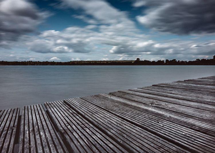 Lake Sky Cloud