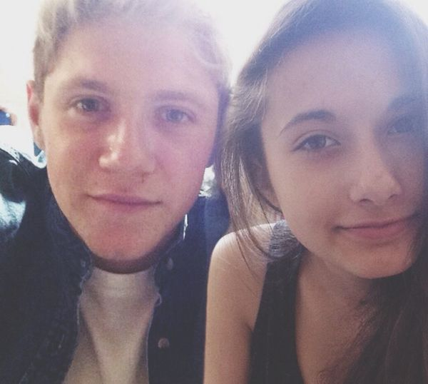 JUST MET NIALL FROM ONE DIRECTION ??? Niall Sunshine Selfie Lovehim