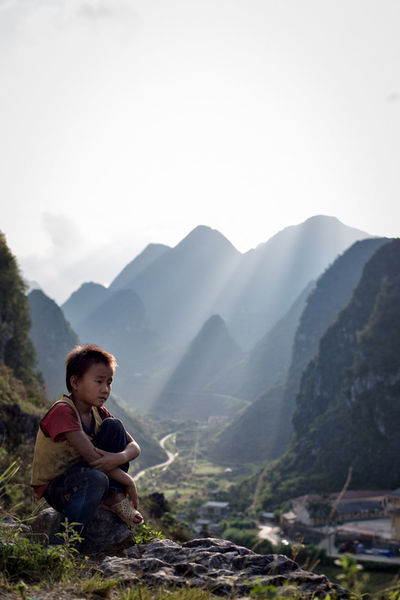The mountains of North Vietnam Vietnam Hagiang