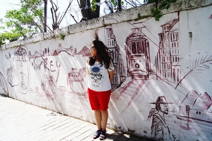 Turkey Istanbul Gulhaneparki Streetart/graffiti Art Streetart Travel Journey City Enjoy An Eye For Travel