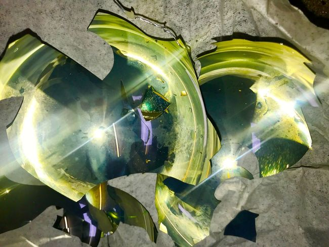 Water Nature Sunlight Reflection Glass - Material Outdoors Green Color