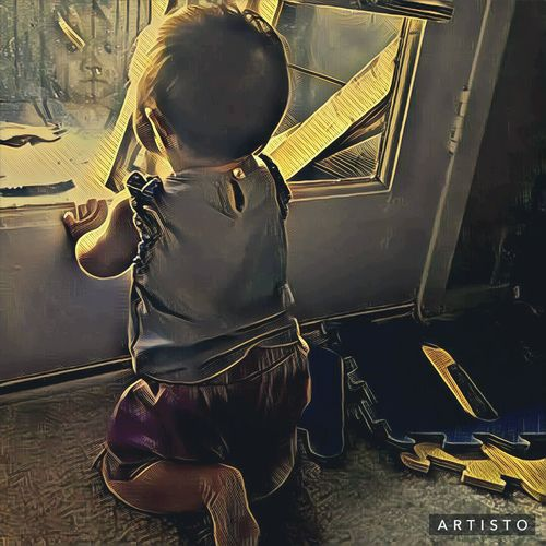 Daughter Indoors  Sitting Artistic Photo Check This Out Beautiful ♥ Artsy Fartsy